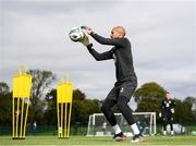 8 September 2019; Darren Randolph during a Republic of Ireland Squad Training session at FAI National Training Centre in Abbotstown, Dublin. Photo by Stephen McCarthy/Sportsfile