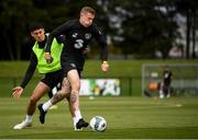 8 September 2019; James McClean, right, with, Callum O'Dowda during a Republic of Ireland Squad Training session at FAI National Training Centre in Abbotstown, Dublin. Photo by Stephen McCarthy/Sportsfile
