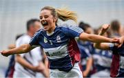 8 September 2019; Amy Cully of Westmeath celebrates following the Liberty Insurance All-Ireland Intermediate Camogie Championship Final match between Galway and Westmeath at Croke Park in Dublin. Photo by Ramsey Cardy/Sportsfile