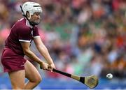 8 September 2019; Ailish O'Reilly of Galway shoots to score her side's first goal during the Liberty Insurance All-Ireland Senior Camogie Championship Final match between Galway and Kilkenny at Croke Park in Dublin. Photo by Piaras Ó Mídheach/Sportsfile