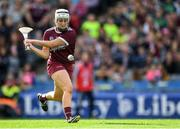 8 September 2019; Ailish O'Reilly of Galway scores her side's third goal during the Liberty Insurance All-Ireland Senior Camogie Championship Final match between Galway and Kilkenny at Croke Park in Dublin. Photo by Piaras Ó Mídheach/Sportsfile