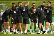 8 September 2019; James McClean and team-mates during a Republic of Ireland training session at the FAI National Training Centre in Abbotstown, Dublin. Photo by Stephen McCarthy/Sportsfile