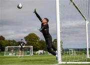 8 September 2019; Mark Travers during a Republic of Ireland training session at the FAI National Training Centre in Abbotstown, Dublin. Photo by Stephen McCarthy/Sportsfile