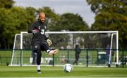 8 September 2019; Darren Randolph during a Republic of Ireland training session at the FAI National Training Centre in Abbotstown, Dublin. Photo by Stephen McCarthy/Sportsfile