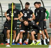 8 September 2019; Alan Judge during a Republic of Ireland training session at the FAI National Training Centre in Abbotstown, Dublin. Photo by Stephen McCarthy/Sportsfile