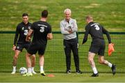8 September 2019; Republic of Ireland manager Mick McCarthy during a training session at the FAI National Training Centre in Abbotstown, Dublin. Photo by Stephen McCarthy/Sportsfile