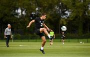 8 September 2019; Seamus Coleman during a Republic of Ireland training session at the FAI National Training Centre in Abbotstown, Dublin. Photo by Stephen McCarthy/Sportsfile