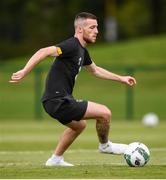 8 September 2019; Jack Byrne during a Republic of Ireland training session at the FAI National Training Centre in Abbotstown, Dublin. Photo by Stephen McCarthy/Sportsfile