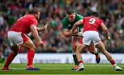 7 September 2019; Tadhg Furlong of Ireland in action against Tomas Francis and Tomos Williams of Wales during the Guinness Summer Series match between Ireland and Wales at Aviva Stadium in Dublin. Photo by Brendan Moran/Sportsfile