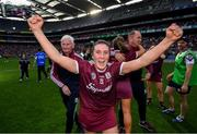 8 September 2019; Ailish O'Reilly of Galway celebrates following the Liberty Insurance All-Ireland Senior Camogie Championship Final match between Galway and Kilkenny at Croke Park in Dublin. Photo by Ramsey Cardy/Sportsfile