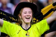 8 September 2019; A Kilkenny supporter during the Liberty Insurance All-Ireland Senior Camogie Championship Final match between Galway and Kilkenny at Croke Park in Dublin. Photo by Ramsey Cardy/Sportsfile