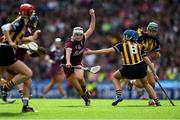 8 September 2019; Ailish O'Reilly of Galway gets away from Claire Phelan of Kilkenny during the Liberty Insurance All-Ireland Senior Camogie Championship Final match between Galway and Kilkenny at Croke Park in Dublin. Photo by Piaras Ó Mídheach/Sportsfile