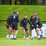 9 September 2019; Jack Byrne  during a Republic of Ireland Squad Training session at the FAI National Training Centre in Abbotstown, Dublin.