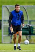 9 September 2019; Seamus Coleman during a Republic of Ireland training session at the FAI National Training Centre in Abbotstown, Dublin. Photo by Stephen McCarthy/Sportsfile