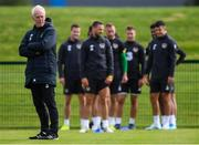 9 September 2019; Republic of Ireland manager Mick McCarthy during a training session at the FAI National Training Centre in Abbotstown, Dublin. Photo by Stephen McCarthy/Sportsfile