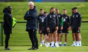 9 September 2019; Republic of Ireland manager Mick McCarthy and assistant coach Terry Connor, left, during a training session at the FAI National Training Centre in Abbotstown, Dublin. Photo by Stephen McCarthy/Sportsfile