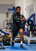 9 September 2019; Cyrus Christie during a Republic of Ireland gym session at the FAI National Training Centre in Abbotstown, Dublin. Photo by Stephen McCarthy/Sportsfile