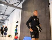 9 September 2019; James McClean during a Republic of Ireland gym session at the FAI National Training Centre in Abbotstown, Dublin. Photo by Stephen McCarthy/Sportsfile