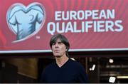9 September 2019; Germany manager Joachim Löw ahead of the UEFA EURO2020 Qualifier Group C match between Northern Ireland and Germany at the National Stadium at Windsor Park in Belfast. Photo by Ramsey Cardy/Sportsfile