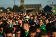 9 September 2019; Northern Ireland supporters ahead of the UEFA EURO2020 Qualifier Group C match between Northern Ireland and Germany at the National Stadium at Windsor Park in Belfast. Photo by Ramsey Cardy/Sportsfile