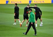 9 September 2019; Head coach Krasimir Balakov during a Bulgaria Squad Training Session at Aviva Stadium in Dublin. Photo by Piaras Ó Mídheach/Sportsfile