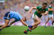 1 September 2019; David Clifford of Kerry is tackled by Jonny Cooper of Dublin during the GAA Football All-Ireland Senior Championship Final match between Dublin and Kerry at Croke Park in Dublin. Photo by Brendan Moran/Sportsfile
