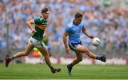 1 September 2019; Brian Howard of Dublin in action against David Clifford of Kerry during the GAA Football All-Ireland Senior Championship Final match between Dublin and Kerry at Croke Park in Dublin. Photo by Brendan Moran/Sportsfile