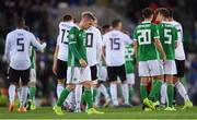 9 September 2019; Northern Ireland captain Steve Davis following the UEFA EURO2020 Qualifier - Group C match between Northern Ireland and Germany at the National Stadium at Windsor Park in Belfast. Photo by Ramsey Cardy/Sportsfile