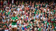 7 September 2019; Bundee Aki of Ireland during the Guinness Summer Series match between Ireland and Wales at Aviva Stadium in Dublin. Photo by David Fitzgerald/Sportsfile