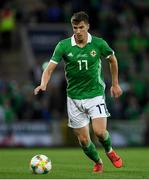 9 September 2019; Paddy McNair of Northern Ireland during the UEFA EURO2020 Qualifier - Group C match between Northern Ireland and Germany at the National Stadium at Windsor Park in Belfast. Photo by Ramsey Cardy/Sportsfile