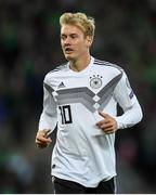 9 September 2019; Julian Brandt of Germany during the UEFA EURO2020 Qualifier - Group C match between Northern Ireland and Germany at the National Stadium at Windsor Park in Belfast. Photo by Ramsey Cardy/Sportsfile