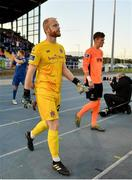 9 September 2019; Aaron McCarey of Dundalk prior to the Extra.ie FAI Cup Quarter-Final match between Waterford and Dundalk at the Waterford Regional Sports Centre in Waterford. Photo by Seb Daly/Sportsfile