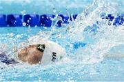 10 September 2019; Amy Marren of Ireland competes in the final of the Women's 100m Backstroke S9 during day two of the World Para Swimming Championships 2019 at London Aquatic Centre in London, England. Photo by Tino Henschel/Sportsfile