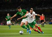 10 September 2019; Callum O'Dowda of Republic of Ireland in action against Daniel Mladenov of Bulgaria during the 3 International Friendly match between Republic of Ireland and Bulgaria at Aviva Stadium, Dublin. Photo by Seb Daly/Sportsfile