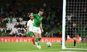 10 September 2019; Alan Browne of Republic of Ireland scores his side's first goal during the 3 International Friendly match between Republic of Ireland and Bulgaria at Aviva Stadium, Dublin. Photo by Stephen McCarthy/Sportsfile