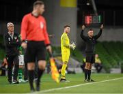 10 September 2019; Kieran O'Hara of Republic of Ireland comes on as a substitute during the 3 International Friendly match between Republic of Ireland and Bulgaria at Aviva Stadium, Dublin. Photo by Stephen McCarthy/Sportsfile