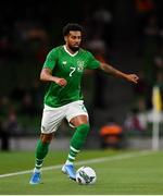 10 September 2019; Cyrus Christie of Republic of Ireland during the 3 International Friendly match between Republic of Ireland and Bulgaria at Aviva Stadium, Dublin. Photo by Seb Daly/Sportsfile
