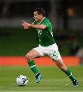 10 September 2019; Josh Cullen of Republic of Ireland during the 3 International Friendly match between Republic of Ireland and Bulgaria at Aviva Stadium, Dublin. Photo by Seb Daly/Sportsfile