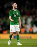 10 September 2019; Jack Byrne of Republic of Ireland during the 3 International Friendly match between Republic of Ireland and Bulgaria at Aviva Stadium, Dublin. Photo by Eóin Noonan/Sportsfile