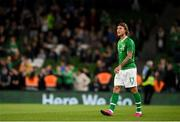 10 September 2019; Jeff Hendrick of Republic of Ireland during the 3 International Friendly match between Republic of Ireland and Bulgaria at Aviva Stadium, Dublin. Photo by Eóin Noonan/Sportsfile