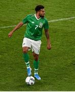 10 September 2019; Cyrus Christie of Republic of Ireland during the 3 International Friendly match between Republic of Ireland and Bulgaria at Aviva Stadium, Dublin. Photo by Ben McShane/Sportsfile