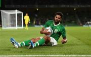 10 September 2019; Cyrus Christie of Republic of Ireland during the 3 International Friendly match between Republic of Ireland and Bulgaria at Aviva Stadium, Dublin. Photo by Eóin Noonan/Sportsfile