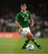 10 September 2019; Josh Cullen of Republic of Ireland during the 3 International Friendly match between Republic of Ireland and Bulgaria at Aviva Stadium, Dublin. Photo by Eóin Noonan/Sportsfile