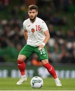 10 September 2019; Kristiyan Malinov of Bulgaria during the 3 International Friendly match between Republic of Ireland and Bulgaria at Aviva Stadium, Dublin. Photo by Eóin Noonan/Sportsfile