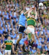 14 September 2019; Brian Fenton of Dublin in action against David Moran of Kerry during the GAA Football All-Ireland Senior Championship Final Replay match between Dublin and Kerry at Croke Park in Dublin. Photo by Ramsey Cardy/Sportsfile