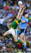14 September 2019; David Moran of Kerry in action against Brian Fenton of Dublin during the GAA Football All-Ireland Senior Championship Final Replay match between Dublin and Kerry at Croke Park in Dublin. Photo by Seb Daly/Sportsfile