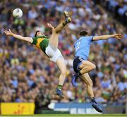 14 September 2019; Paul Geaney of Kerry in action against David Byrne of Dublin during the GAA Football All-Ireland Senior Championship Final Replay match between Dublin and Kerry at Croke Park in Dublin. Photo by Ramsey Cardy/Sportsfile