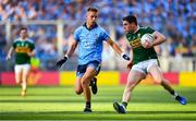14 September 2019; Tadhg Morley of Kerry in action against Jonny Cooper of Dublin during the GAA Football All-Ireland Senior Championship Final Replay match between Dublin and Kerry at Croke Park in Dublin. Photo by David Fitzgerald/Sportsfile