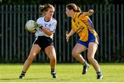 14 September 2019; Action from the Senior Championship Final between Emyvale, Co Monaghan and The Banner, Co Clare, during the 2019 LGFA All-Ireland Club 7s at Naomh Mearnóg & St Sylvesters in Dublin. Photo by Michael P Ryan/Sportsfile