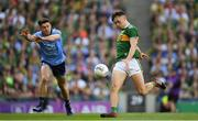 14 September 2019; David Clifford of Kerry in action against David Byrne of Dublin during the GAA Football All-Ireland Senior Championship Final Replay match between Dublin and Kerry at Croke Park in Dublin. Photo by Ramsey Cardy/Sportsfile